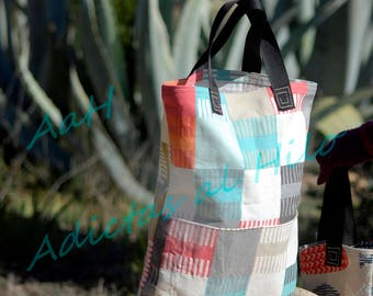 Bags Tote-Bag porta all with exterior pocket and comfortable handles