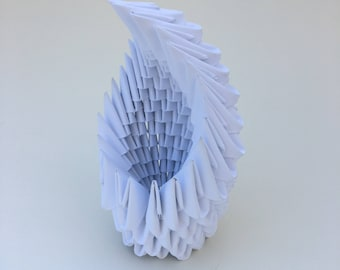 Modular Origami Sculpture - Egg