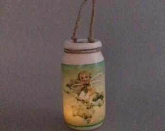 Green Fairy Lantern/Sweet Jar/Night Light