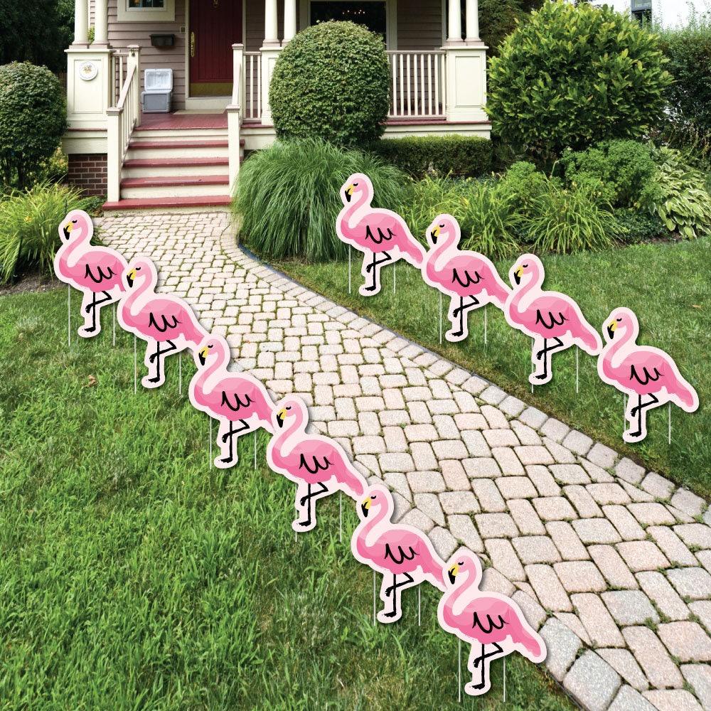 Flamingo Pink Flamingo Lawn Decorations Outdoor Yard