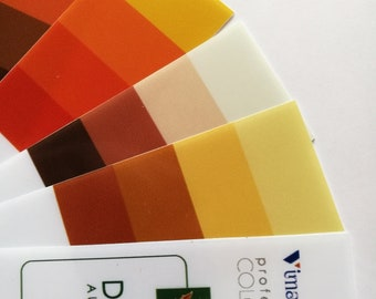 Color analysis tools – color strips