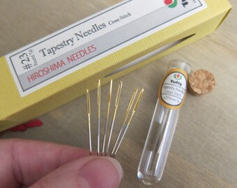 Tulip, Tapestry Needles (Cross Stitch #23), 6 needles in each package - Packages are Sold Individually