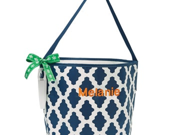 Monogrammed Game Day Cooler Tote