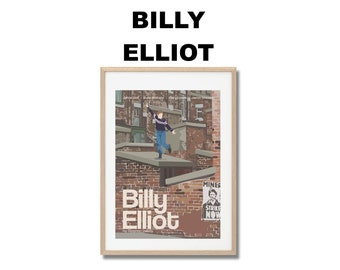 Billy Elliot Movie Print - Poster