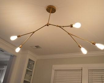 5 bulb branch light