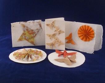 Tarjetas de Origami bastante