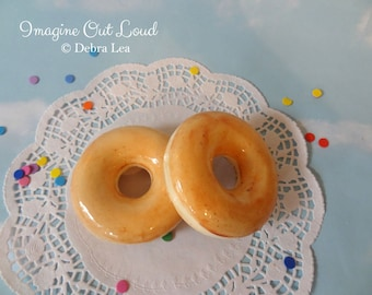 Fake Donut Doughnut Glazed DECOR Fake Cake Kitchen Decor Display