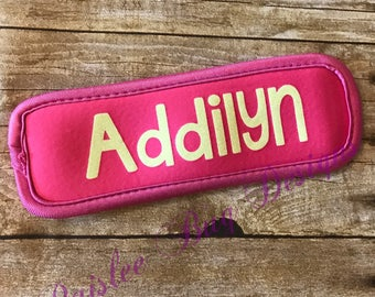Personalized Popsicle Holder, Popsicle Sleeve, Personalized Popsicle Sleeve, Personalized Birthday Gift, Popsicle Holder