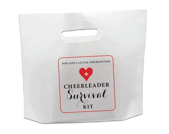 Cheerleader Survival Kit Stickers - DIY for Life's Little Emergencies