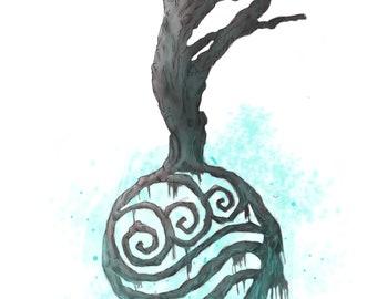Elemental Tree Series- Water