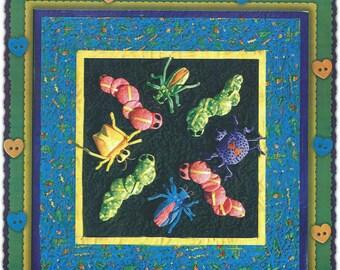 Thimble art Bug-a-Boo Pattern