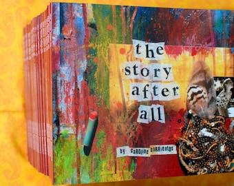 the story after all. art book. artist journal. [regular parcel]