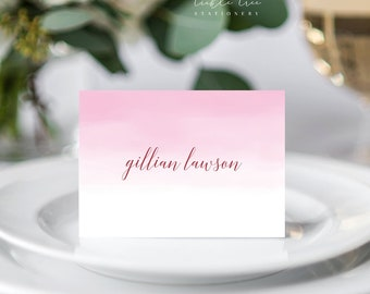 Place Cards - Pretty in Pink (Style 13634)