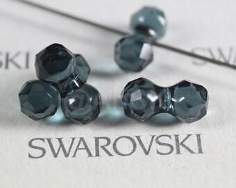 4 pieces Swarovski Element 5150 11mm Modular Crystal Beads - Crystal Montana