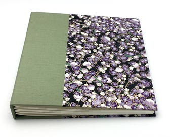 Green and Purple Photo Album - Made to Order - multiple sizes available
