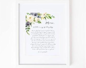 Mother wedding gift   Etsy