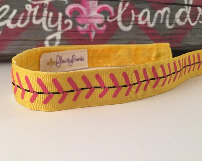 Nonslip Headband Softball Girl