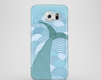 Mermaid / mermaid illustration phone case / Samsung Galaxy S7, Samsung Galaxy S6, samsung Galaxy S6 Edge, Samsung Galaxy S5 / mermaids
