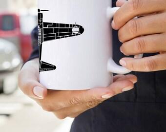 KillerBeeMoto: U.S. Made Coffee Mug Mitsubishi A6M Zero Fighter Aircraft