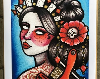 Tattoo Lady Machine