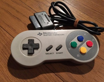 Super Famicon (SNES) controllers