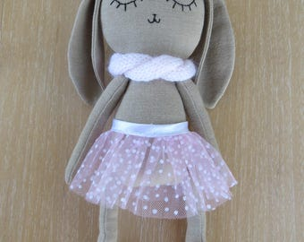 Brittney the bunny,soft toy,unique toy,gift for kids,plush toy,handmade doll,baby shower gift,stuffed bunny,birthday gift,cuddle toy