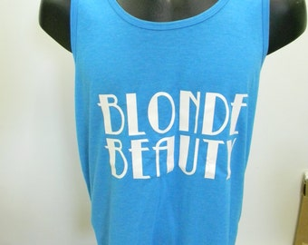 Blonde Beauty Tank