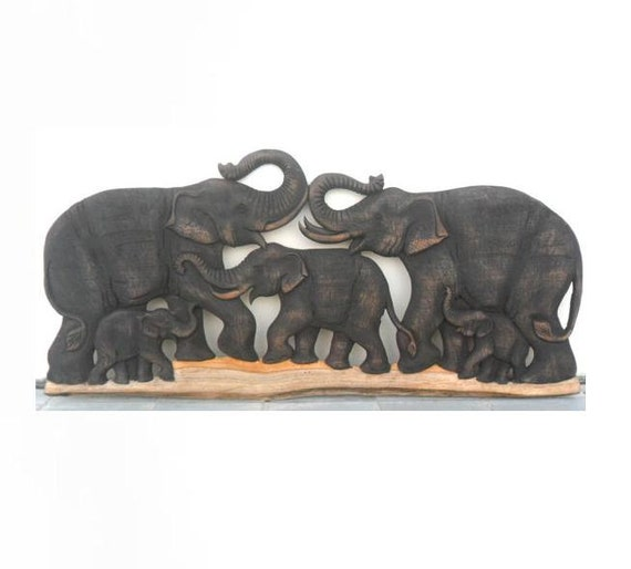 Mens Attractive Elephant art Picture House Slippers