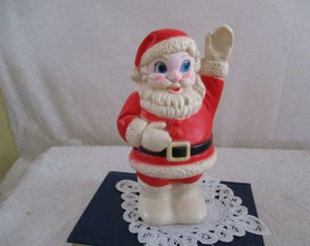 Santa  rubber Squeaky toy Sanitoy