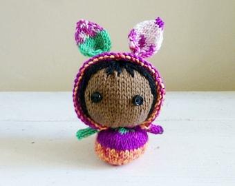 Cute Stuffed Animal, baby doll, bunny stuffed animal, ready to ship - Mini Bunny Baby Fiona