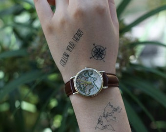 Travel Collection - Spirit Ink Temporary Tattoos