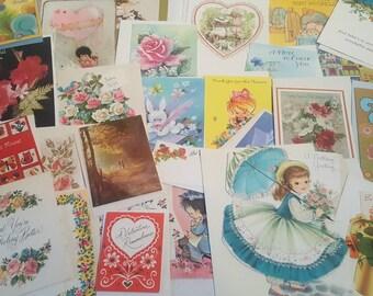 Vintage Lot of Greeting Cards UNUSED