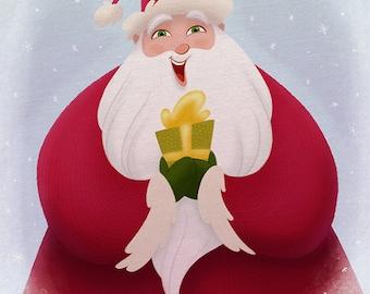 Santa's Gift, 11x14