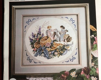 MAYniaSALE Stoney Creek, Collection, Magazine, Vintage, 1993, May/June Counted Cross Stitch, Patterns
