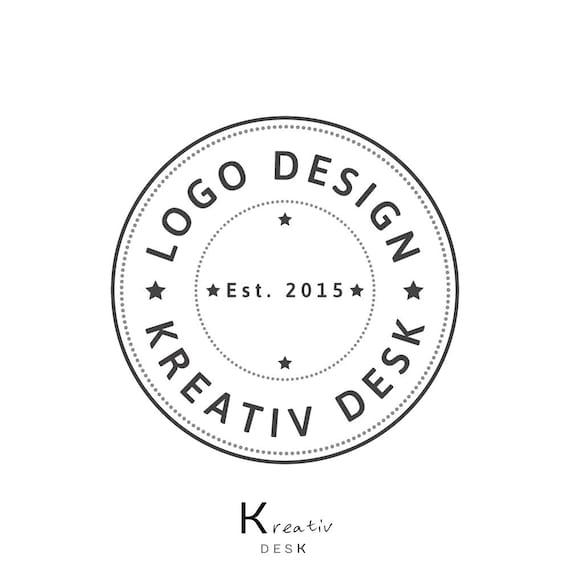 Badge Logo. Round Logo. Circle Logo. DIY Logo. Do it yourself