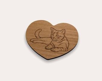 Cat 262-622 Coaster (Set of 4)