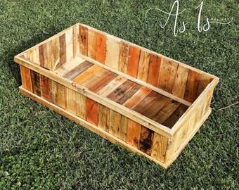 Raised Garden Box, Solid Wood Planter Box, Farmhouse Garden, Wood Planter, Raised  Garden Planter, Garden Box, Raised Flower Box, Planter Bed