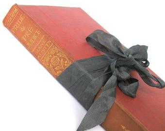 Pride and Prejudice by Jane Austen, Vintage Jane Austen Book, Old Pride and Prejudice Book, Austen Wedding Decor, Old Austen Book, Cassells