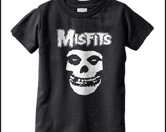 Misfits kids T-shirt Punk Kids Funny Kids and Toddler shirts-Kids Gifts- Kids T-shirts-Cute kids gifts