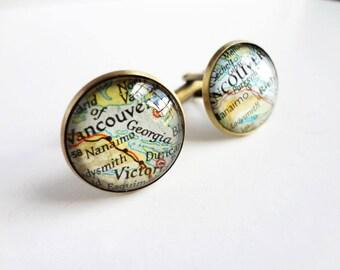Custom Cufflinks For Amy x 3 Pairs - Prague and  Scotland