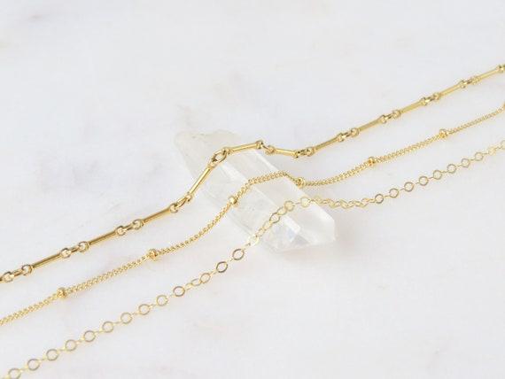 Dainty Gold Bracelet | Beaded Bracelet | Chain Bracelet | Minimalist Jewelry | Dainty Bracelet | Chain & Link Bracelet | Anklet | 0418B09