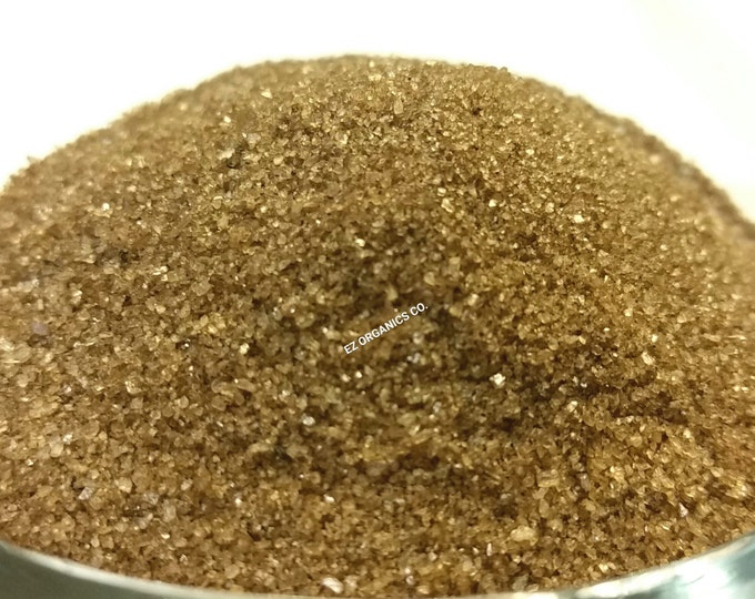 1/2-4 oz Organic Cherry Wood Smoked Sea Salt  Fine Grain This smells so GOOD. Must try would be great in BBQ sauce