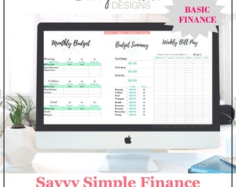 Printable finances   ultimate planner   bill pay   monthly financial   bill tracker   family budget   bill tracker   weekly finances