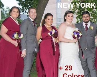 Plus Size Dress, Plus Size infinity Dress , Plus Size beach dress, Plus Size Convertible dress, plus size Bridesmaid Dress, plus size prom