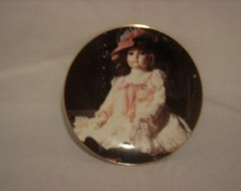 "Gorham Collector Plate ""Rosamond"""