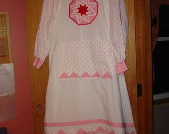 Native American Dress and Apron (Lumbee pictured)