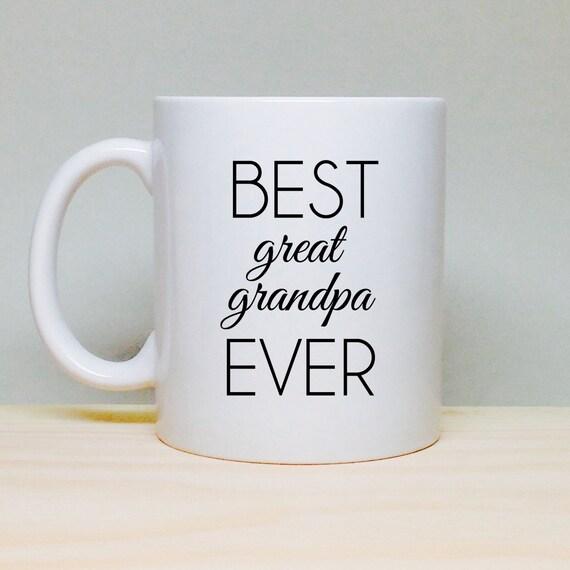 Coffee Mug Gift Gift For Great Grandpa Birthday Gift