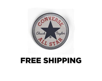 Converse All Star Vintage logo Pinback Button