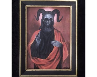 Unholy Christ ~ Repainted Jesus Print