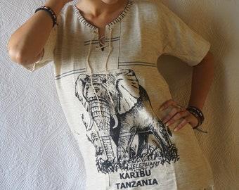 African Elephant Poncho